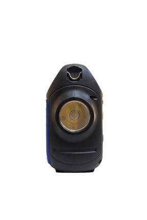 Teknoloji Gelsin Kts1185 Mavi Bluetooth Hoparlör El Feneri Kablosuz Speaker Taşınabilir Ses Bombası Askılı 2
