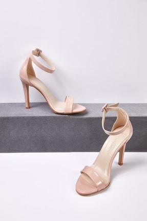 Picture of Kadın Ten Rengi İnce Bantlı Topuklu Abiye Ayakkabısı JENNA