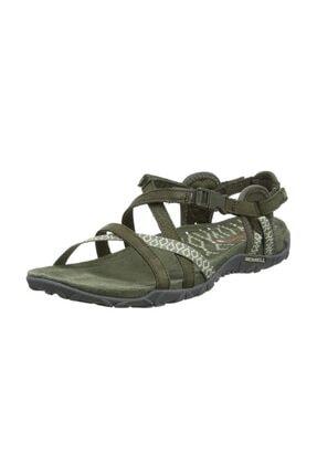 Merrell Kadın Yeşil Terran Lattıce Iı Sandalet J98756 2