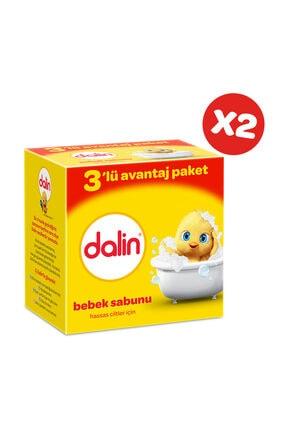 Dalin Bebe Sabun 100 gr 3'lü Avantaj Paketi x 2 Adet 1