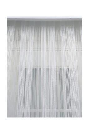 Esse Home Düz Çizgili Örme Tül Perde, Seyrek Pile, 1/2 600x260 cm 2