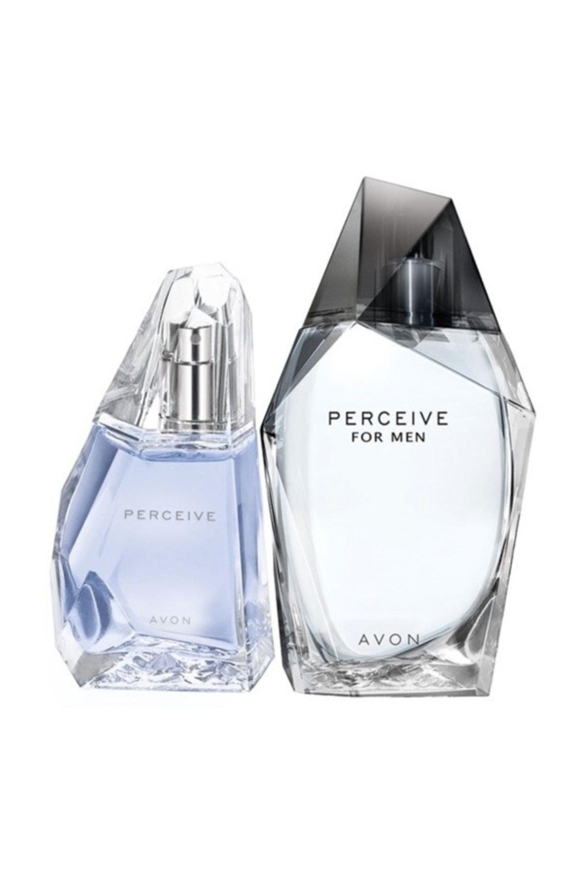 Perceive Edp 50 ml Kadın Parfümü + Perceive Edt 100 ml Erkek Parfüm Seti 8681298981688