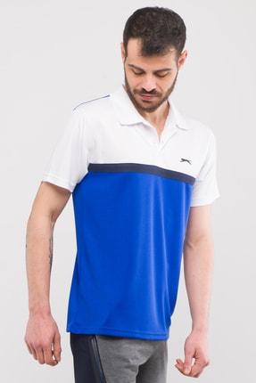 Slazenger Troop Erkek T-shirt Saks Mavi 1