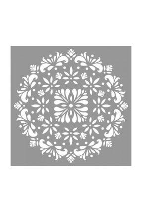 Artikel Mandala 30 Stencil Tasarımı 30 X 30 Cm 0