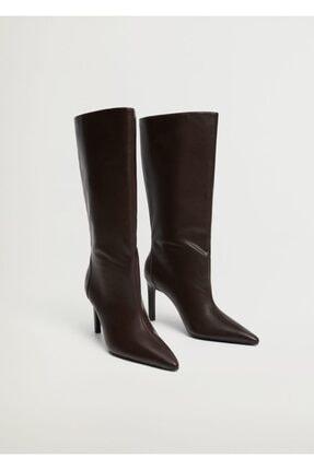 Mango Kadın Çikolata Çizme 87050086 0