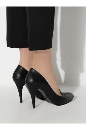 ayakkabıhavuzu Kadın Siyah Topuklu Ayakkabı 4