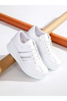 ayakkabıhavuzu Kadın Beyaz Spor Ayakkabı  1298154 1