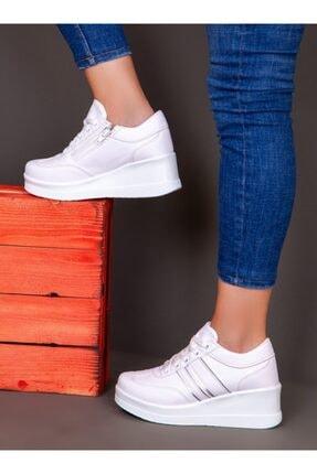 ayakkabıhavuzu Kadın Beyaz Spor Ayakkabı  1298154 4