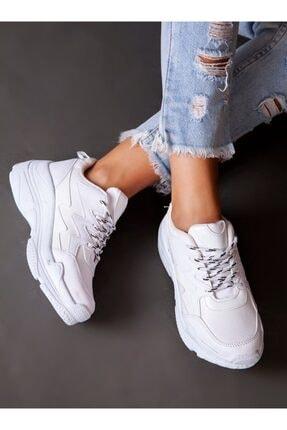 ayakkabıhavuzu Kadın Beyaz Spor Ayakkabı 2