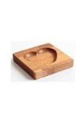 Kalbim Mini Tekli Sunum Tabağı - Servis Tabağı - Bambu Tabak DD-14