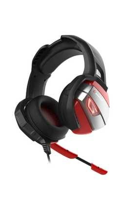 Rampage RM-K5 Noble 7.1 Surround Sound System USB Mikrofonlu Oyuncu Kulaklığı Siyah/Kırmızı 2