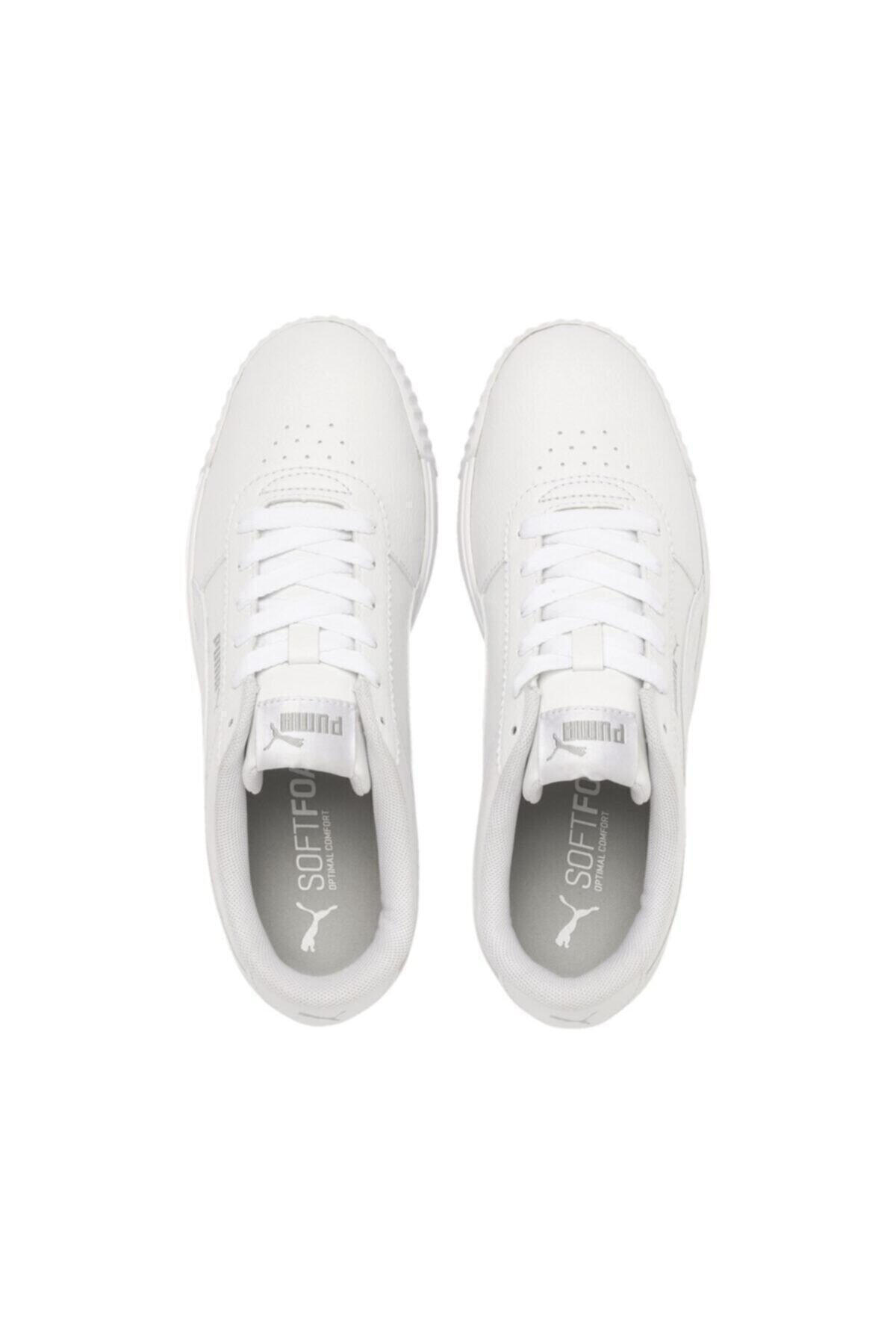 Puma CARINA SLIM SL Beyaz Kadın Sneaker Ayakkabı 100480305