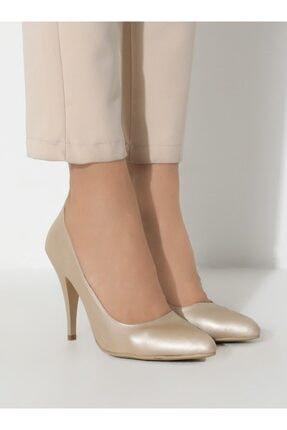 ayakkabıhavuzu Kadın Altın Topuklu Ayakkabı  1232756 2