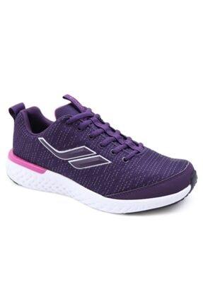 Lescon Kadın Mürdüm Spor Ayakkabı 0