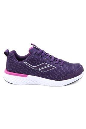 Lescon Kadın Mürdüm Spor Ayakkabı 1