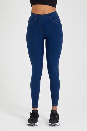 Meis Pantolon Görünümlü Yıkamalı Tayt 1
