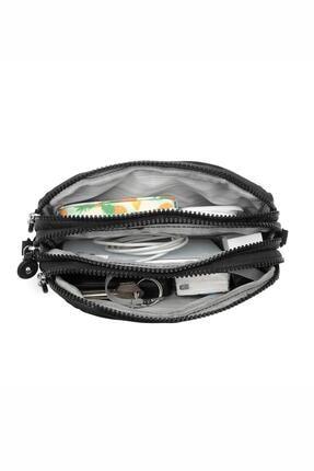 Smart Bags Smbyb1112-0001 Siyah Kadın Minik Çapraz Çanta 4