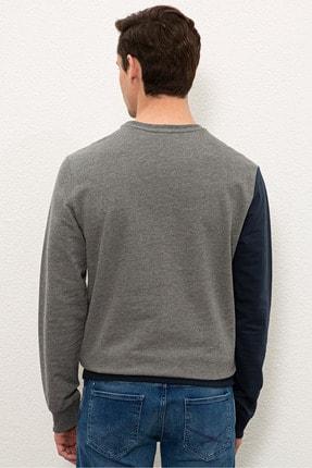 US Polo Assn Gri Erkek Sweatshirt G081SZ082.000.1219416 2