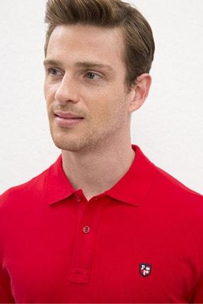 US Polo Assn Kırmızı Erkek T-Shirt 1