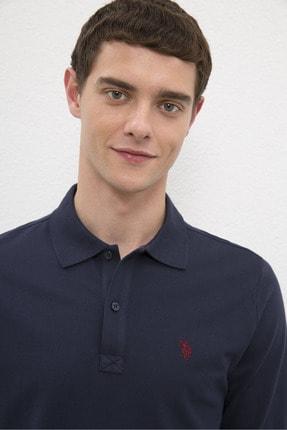 US Polo Assn Lacıvert Erkek Sweatshirt 1