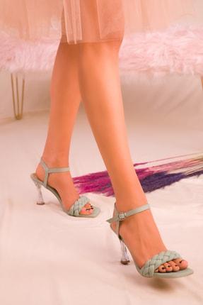 Soho Exclusive Yeşil Kadın Klasik Topuklu Ayakkabı 16076 1