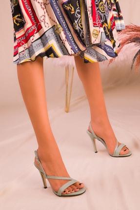 Soho Exclusive Yeşil Kadın Klasik Topuklu Ayakkabı 16210 2