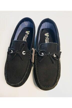 Vicco Erkek Çocuk Siyah Hakiki Süet Ortopedik Ayakkabı 0