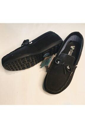 Vicco Erkek Çocuk Siyah Hakiki Süet Ortopedik Ayakkabı 3