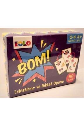 Eolo Yayıncılık Bom! - Eşleştirme Ve Dikkat Oyunu (80 Kart) 1