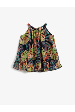 Koton Çiçekli Elbise 0