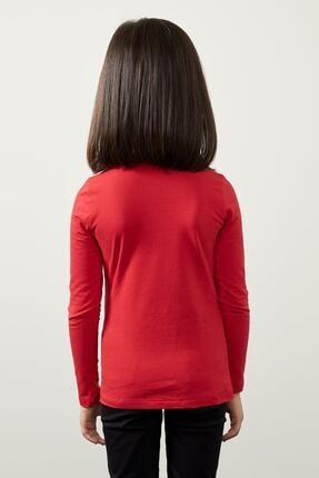 Defacto Kız Çocuk Uzun Kollu Basic Tişört 3