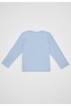Defacto Kız Çocuk Unicorn Selanik Kumaş Sweatshirt 1