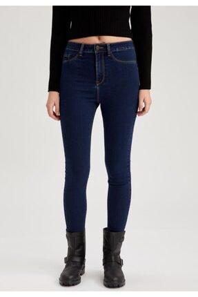 Kadın Mavi Anna Super Skinny Fit Jean Pantolon S7241AZ21SP