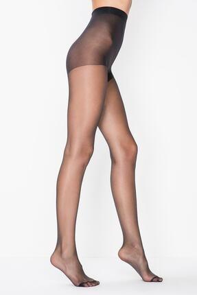 Penti Siyah Mat 20 Külotlu Çorap 0