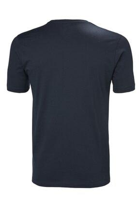 Helly Hansen Hh Logo Erkek T-shirt Lacivert 1
