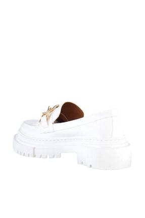 Soho Exclusive Beyaz Kadın Casual Ayakkabı 15993 4