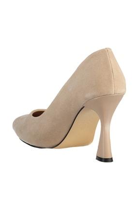 Soho Exclusive Ten Süet Kadın Klasik Topuklu Ayakkabı 16002 4