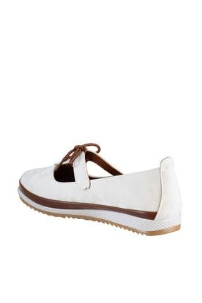 Soho Exclusive Beyaz Kadın Casual Ayakkabı 16101 4