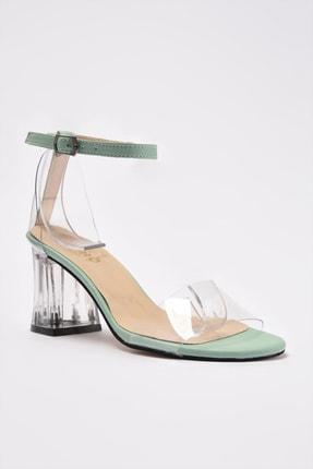 Soho Exclusive Yeşil Kadın Klasik Topuklu Ayakkabı 16132 4