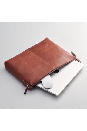 Macbook Çantası Taba Deeper Deri Kılıf Macbook Air 13