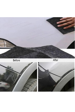 Bundera Fixera Araç Çizik Giderici Kapatıcı Bez Oto Araba Rütuş Boyası Pasta Cila Boya Rötuş Pedi 2