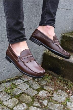 ALBİDÜNYA Erkek Kahverengi Günlük Ayakkabı 3