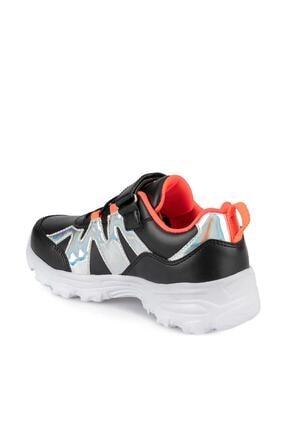 Kinetix WAVES 9PR Siyah Kız Çocuk Yürüyüş Ayakkabısı 100438250 2