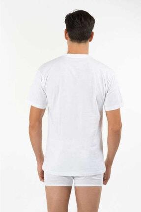 تصویر از -  Erkek Eduardo Bisiklet Yaka 2li T-shirt