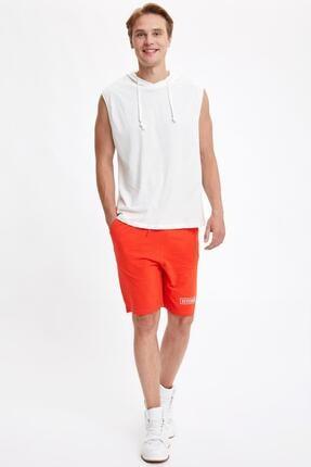 Defacto Slim Fit Basic Kapüşonlu Kolsuz Tişört 1