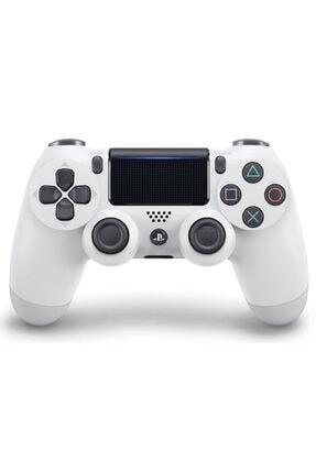 Sony Yeni Nesil Beyaz Kol Ps4 Dualshock 4 V2 Gamepad 0