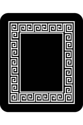 DEKOMOD Dekoratif Dijital Baskılı Kaymaz Deri Taban Banyo Klozet Paspas Seti 2
