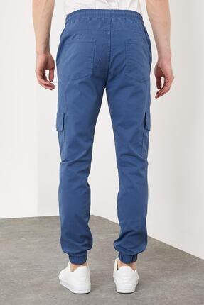 Enuygunenmoda Erkek Slim Fit Jogger Pantolon Mavi 4