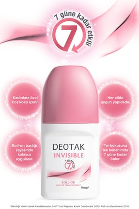Deotak Roll-on 35 ml Invisible 1