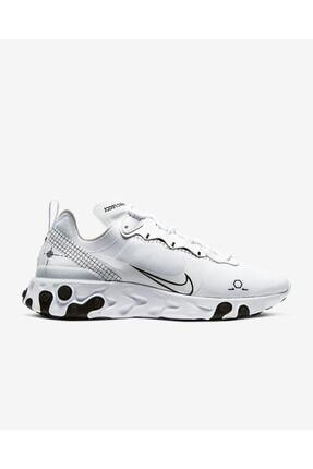 Nike Unisex Beyaz React Element 55 / Cu3009-100 Spor Ayakkabı 0